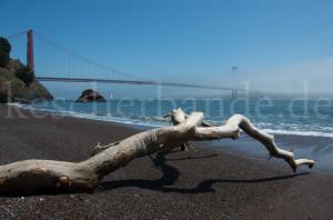 Golden Gate von Kirby Cove aus