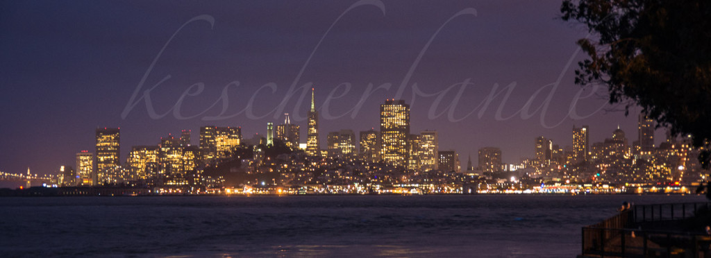 San Francisco – Night Skyline