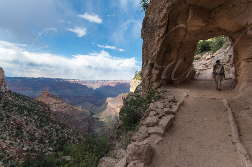 Bright Angel Trail Tunnel