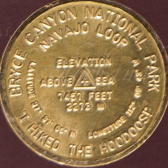 Plakette Navajo Loop