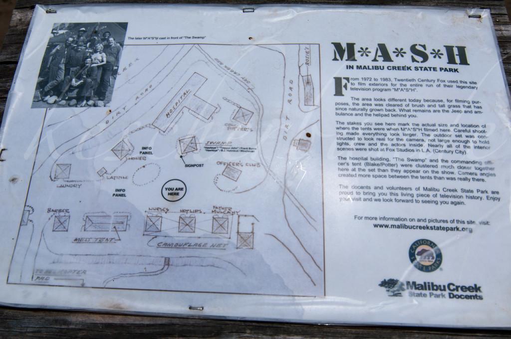 MASH Informationsschild