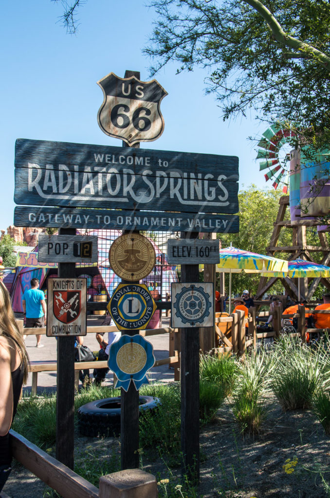 California Adventure - Radiator Springs