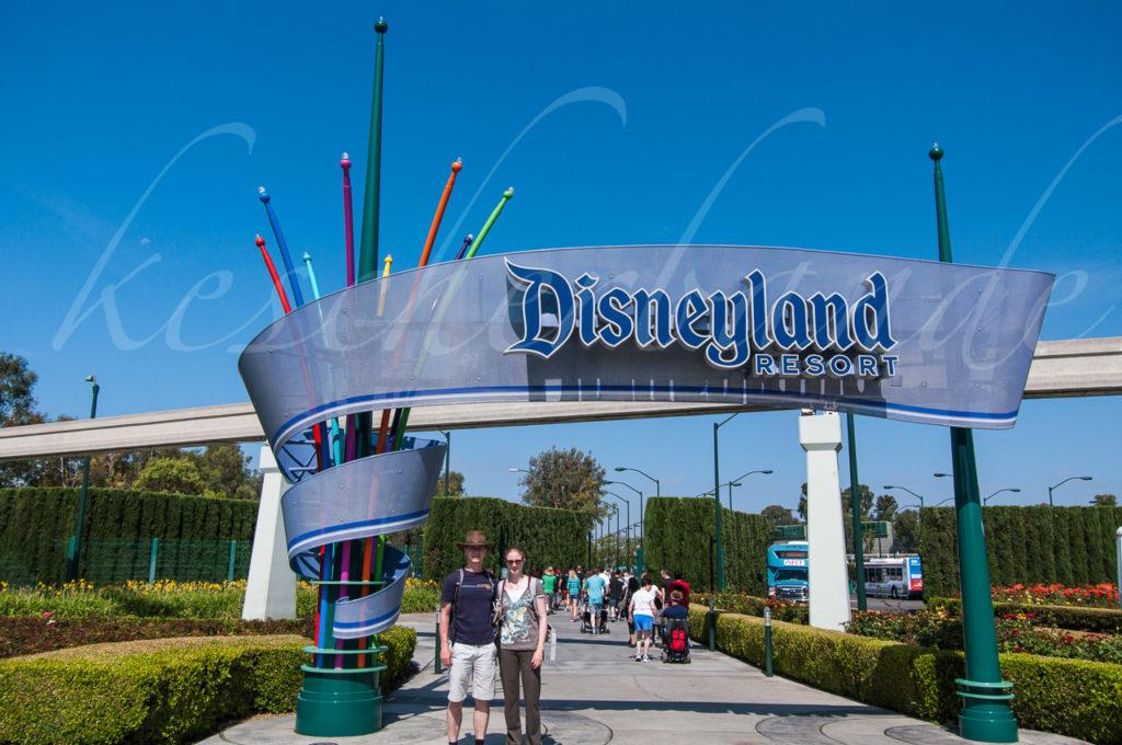 Disneyland - Eingangsschild