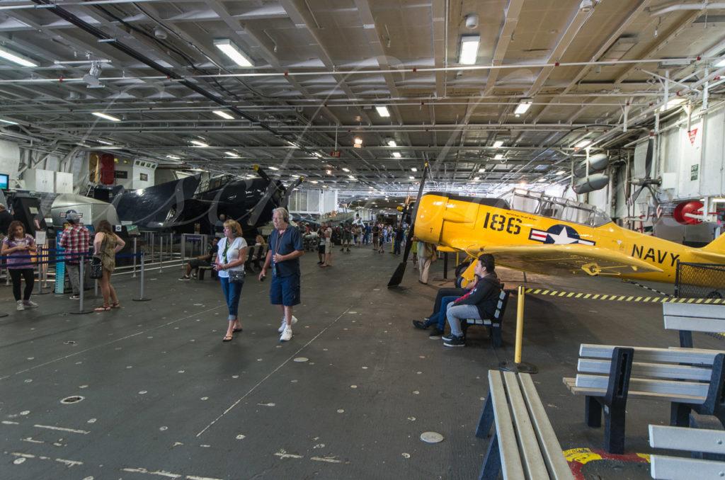 USS Midway - Hangar Deck
