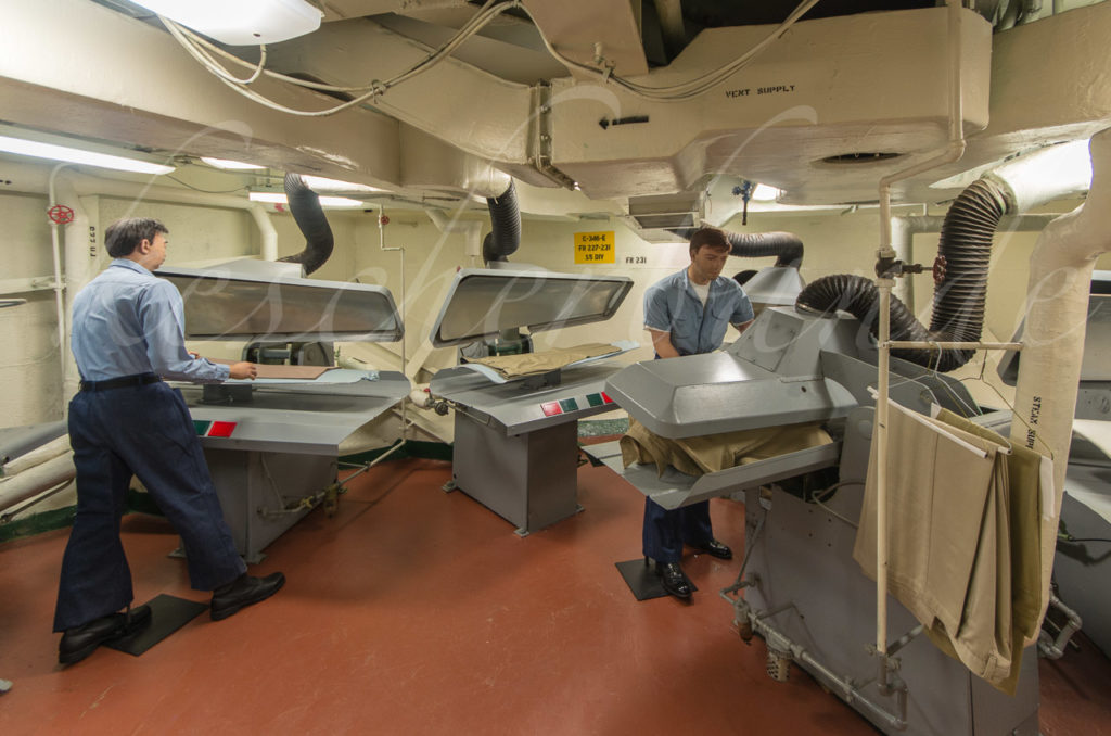 USS Midway - Wäscherei