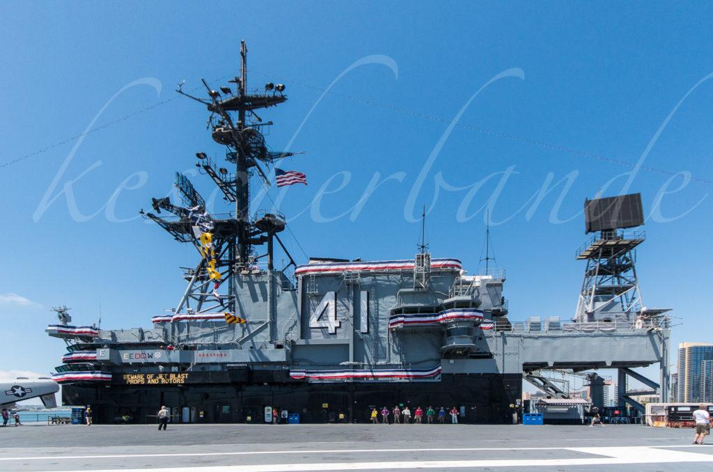 USS Midway - Die Insel