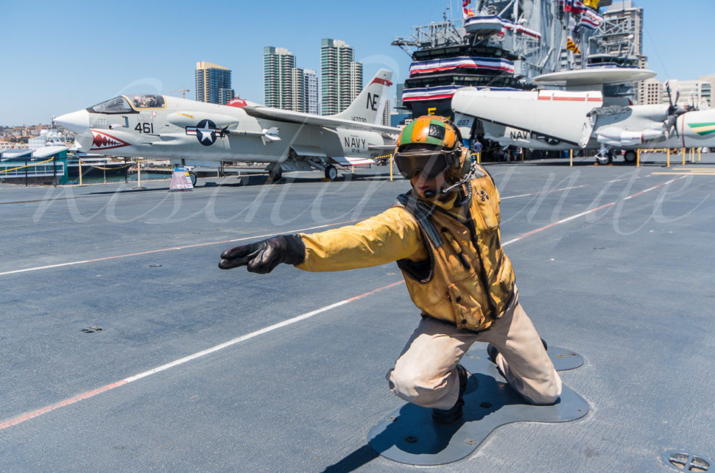 USS Midway - Ready for takeoff