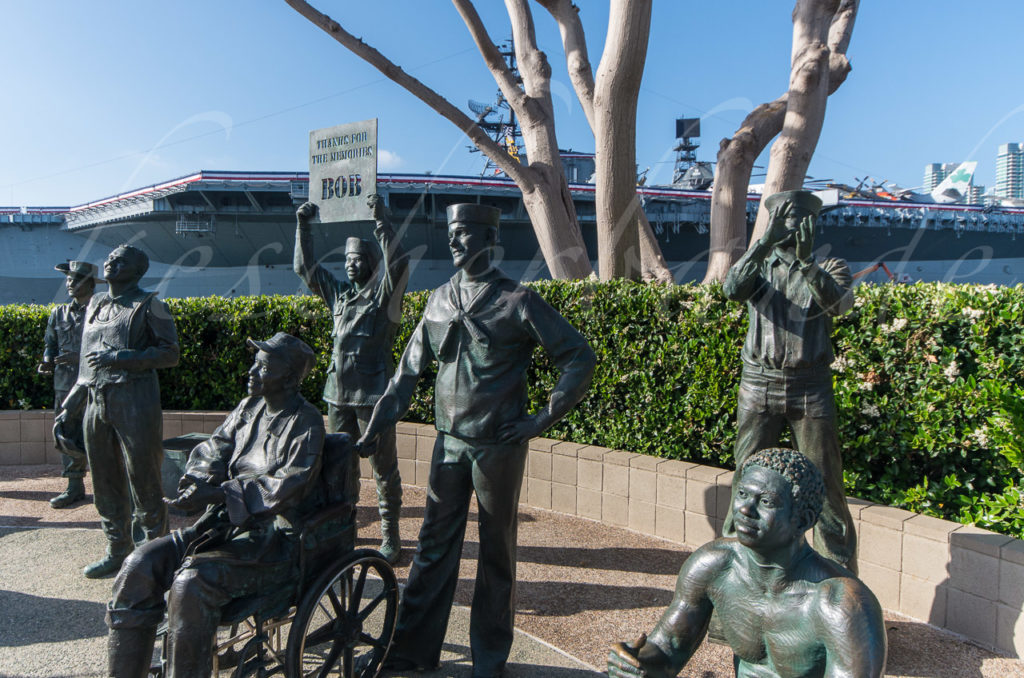 USS Midway - Bob Hope Memorial