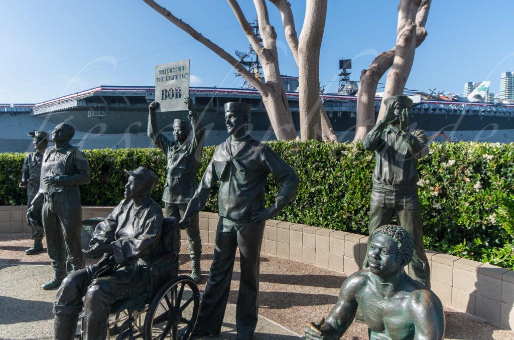 USS Midway - Bob Hope Memorial