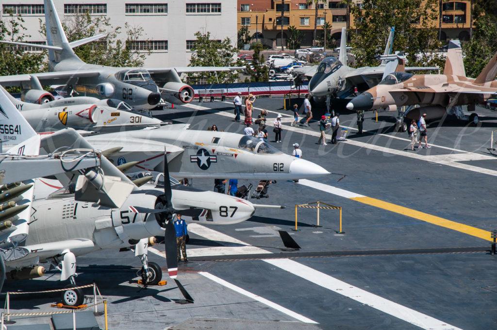 USS Midway - Flugdeck