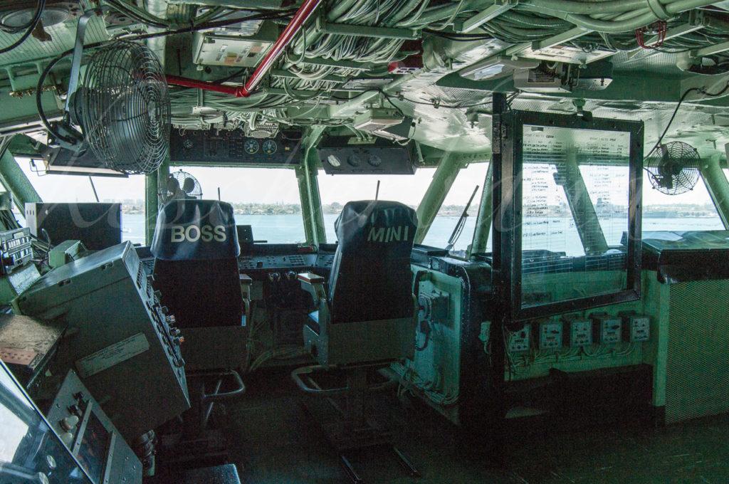 USS Midway - Brücke