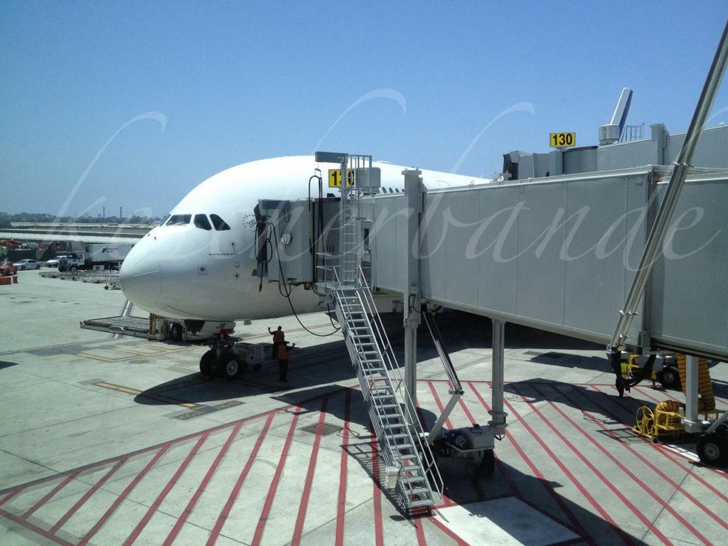 A380 am Gate