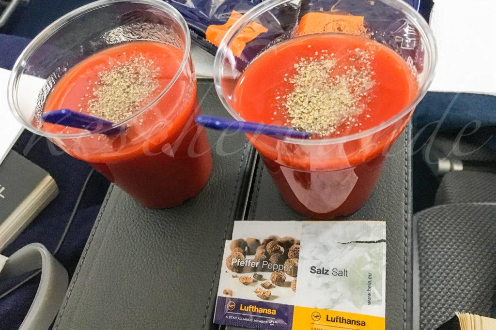 Mandatory tomato juice
