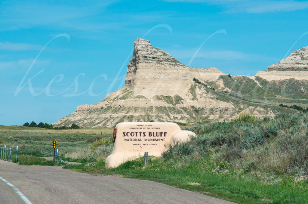 Scotts Bluff NM sign